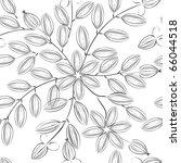 floral seamless pattern | Shutterstock .eps vector #66044518