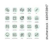 vector icon style illustration... | Shutterstock .eps vector #660453847