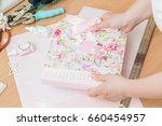 homemade attributes of... | Shutterstock . vector #660454957