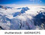 nice view of grossglockner peak ... | Shutterstock . vector #660464191