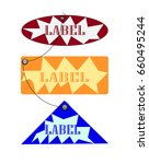 labels icon illustrator | Shutterstock .eps vector #660495244