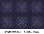 small colorful flowers. motley... | Shutterstock . vector #660534037