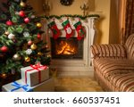 interior image of living room...   Shutterstock . vector #660537451