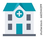 hospital building  vector... | Shutterstock .eps vector #660544399