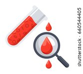 hematology concept with red...   Shutterstock .eps vector #660544405