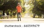 hispanic blind man  latino... | Shutterstock . vector #660549679