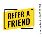 refer a friend. flat vector... | Shutterstock .eps vector #660552031