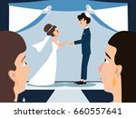 mothers crying at jewish... | Shutterstock .eps vector #660557641
