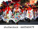 horizontal photo of a carnival... | Shutterstock . vector #660560479