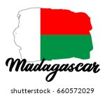 madagascar flag. the national...