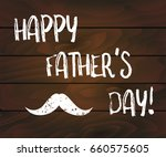 happy father's day lettering... | Shutterstock .eps vector #660575605