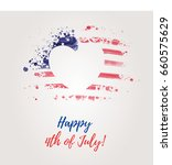 usa independence day background.... | Shutterstock .eps vector #660575629