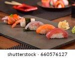 japanese food  | Shutterstock . vector #660576127