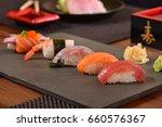 japanese food  | Shutterstock . vector #660576367