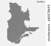 high quality map of quebec is a ...