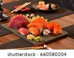japanese food  | Shutterstock . vector #660580204