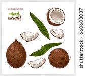 vector illustration of hand... | Shutterstock .eps vector #660603037