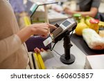 shopping  sale  consumerism and ... | Shutterstock . vector #660605857