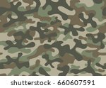 texture military camouflage... | Shutterstock .eps vector #660607591