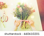 people  business  sale and...   Shutterstock . vector #660610201