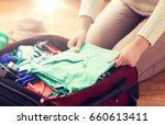 summer vacation  travel ... | Shutterstock . vector #660613411