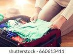 summer vacation  travel ... | Shutterstock . vector #660613411