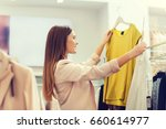 sale  clothes   shopping ... | Shutterstock . vector #660614977