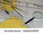 navigational equipment | Shutterstock . vector #660620005