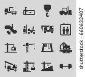lift icons set. set of 16 lift...   Shutterstock .eps vector #660632407