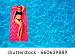 summer vacation. enjoying... | Shutterstock . vector #660639889