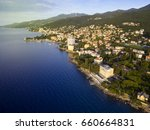 aerial view of mediterranean... | Shutterstock . vector #660664831