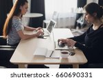 startup business concept with... | Shutterstock . vector #660690331
