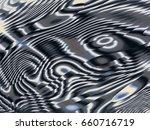 black white silver gray glitch...   Shutterstock . vector #660716719