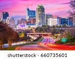 raleigh  north carolina  usa... | Shutterstock . vector #660735601