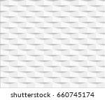 white seamless geometric... | Shutterstock .eps vector #660745174