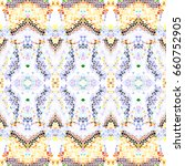 mosaic square colorful pattern... | Shutterstock . vector #660752905