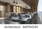 3d rendering luxury hotel... | Shutterstock . vector #660764104