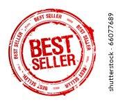 best seller rubber stamp. | Shutterstock .eps vector #66077689