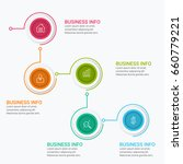 business infographic diagrams | Shutterstock .eps vector #660779221