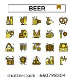 beer icons filled with color...