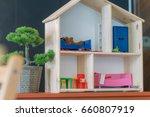 living room set toy | Shutterstock . vector #660807919