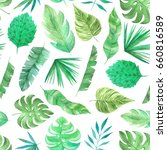 seamless pattern with... | Shutterstock . vector #660816589