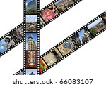 Film Strips With Travel Photos...