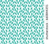 vector leaves pattern.... | Shutterstock .eps vector #660844351