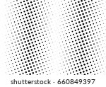 abstract halftone dotted... | Shutterstock .eps vector #660849397