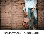 casual clothes  stylish young... | Shutterstock . vector #660886381