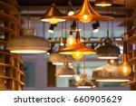 modern and industrial style... | Shutterstock . vector #660905629