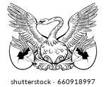 vector hand drawn illustration... | Shutterstock .eps vector #660918997