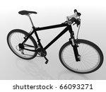 bicycle 3d render | Shutterstock . vector #66093271