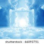 doors to paradise | Shutterstock . vector #66093751